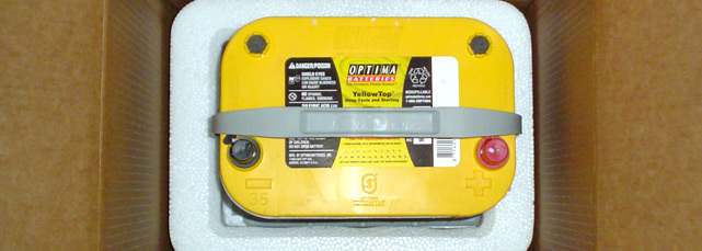 Optima Yellow Battery