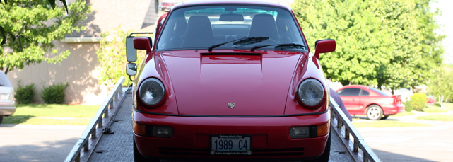 1989 Porsche 911 Carrera C4 964 Porsche 911 Awd